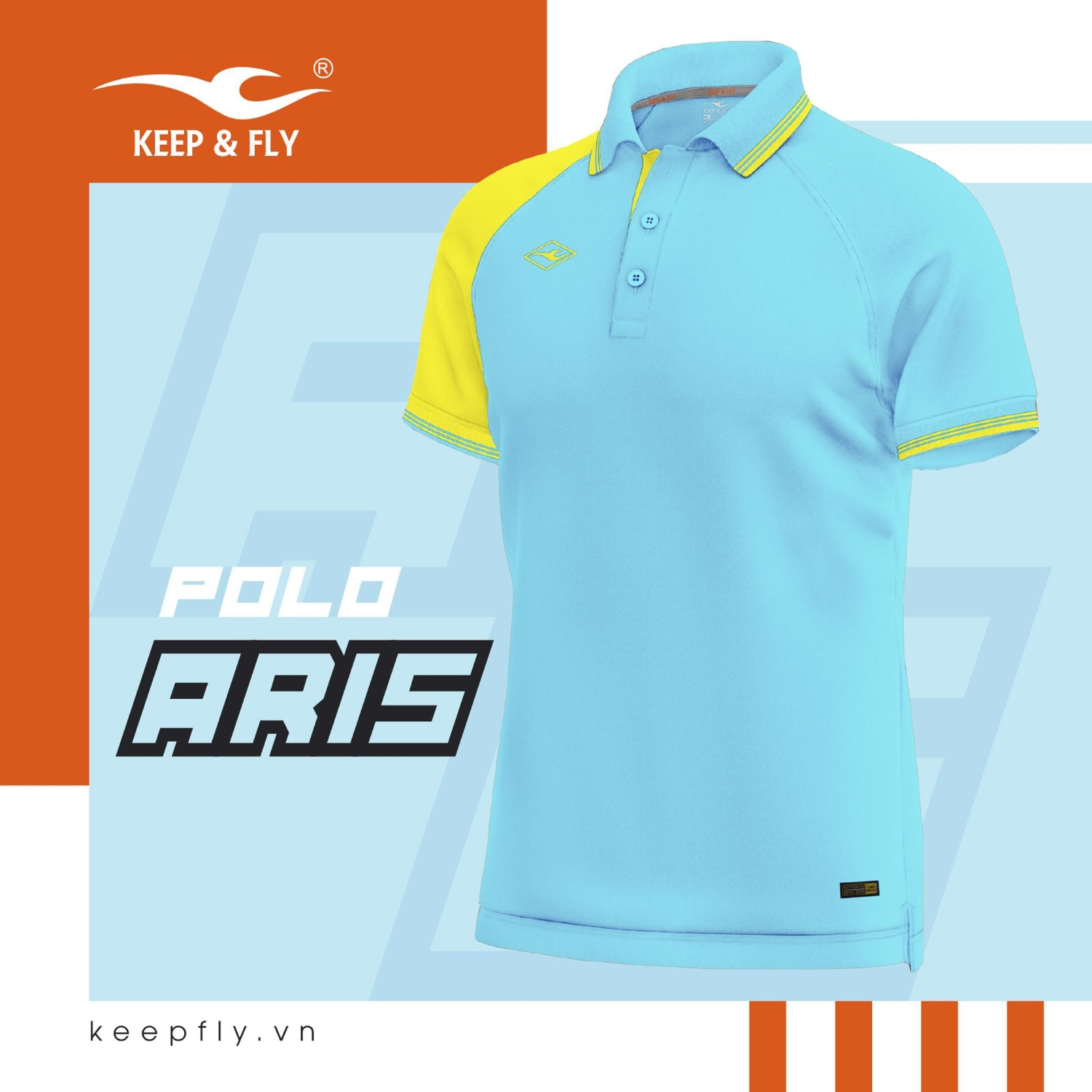 polo aris xanh ya keepfly